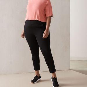 Addition Elle Black Skinny Pants Active Leggings